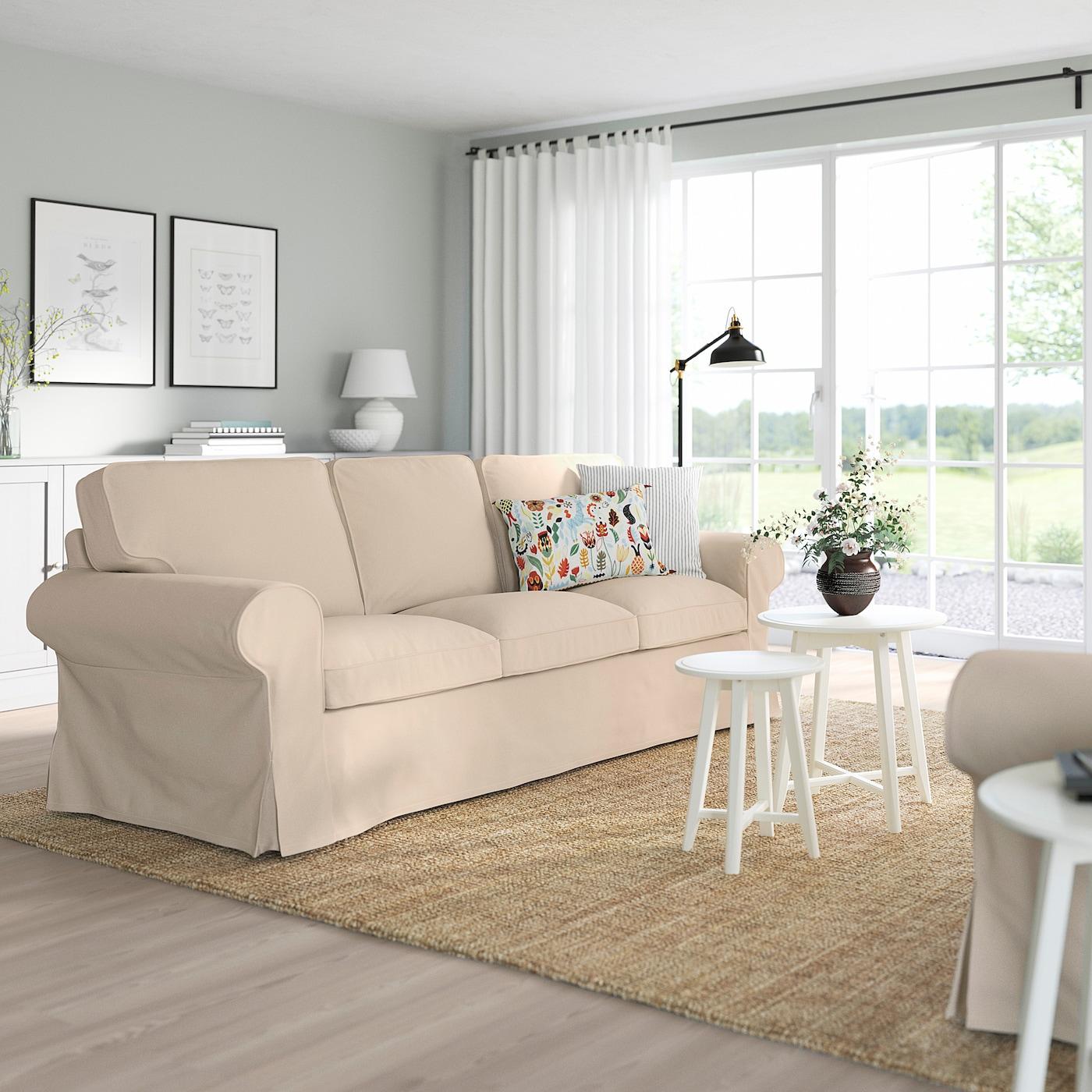 Ektorp 3er Sofa Hallarp Beige Ikea Schweiz