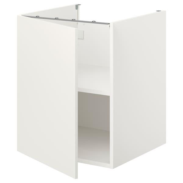 ENHET Unterschrank mit Böden/Tür, weiß, 60x62x75 cm