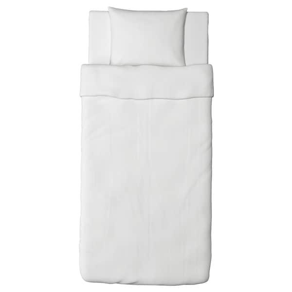 FÄRGMÅRA Bettwäscheset, 2-teilig weiß 104 Quadratzoll 1 Stück 200 cm 150 cm 50 cm 60 cm
