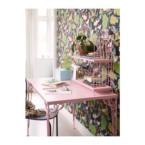 falkhÖjden schreibtisch - weiß - ikea - Rosa Schlafzimmer Ikea