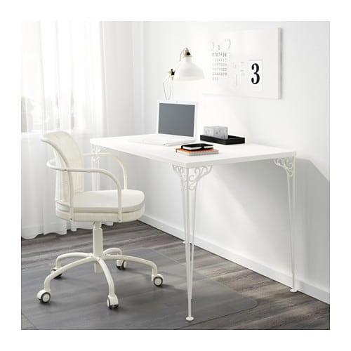 falkh jden schreibtisch wei ikea. Black Bedroom Furniture Sets. Home Design Ideas