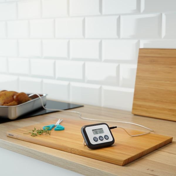 FANTAST Fleischthermometer/Küchenwecker digital schwarz 9 cm 7 cm