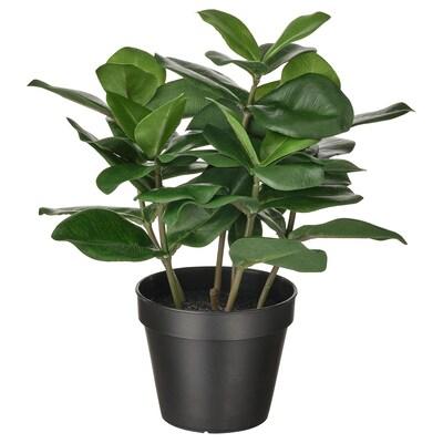 FEJKA Topfpflanze, künstlich, drinnen/draußen Balsamapfel, 12 cm
