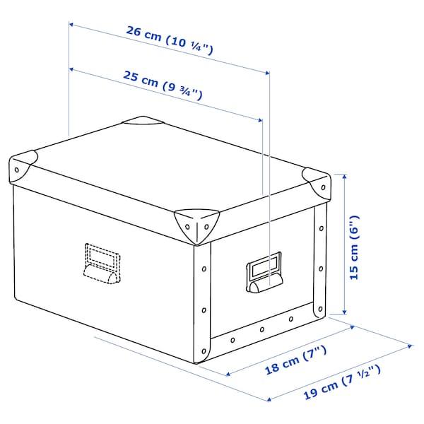 IKEA FJÄLLA Kasten mit deckel