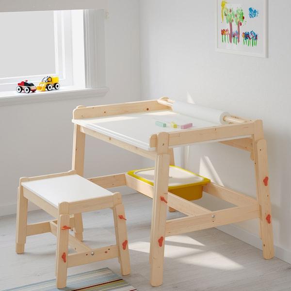 FLISAT Kinderschreibtisch, verstellbar
