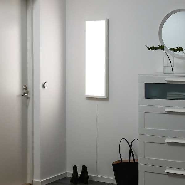 FLOALT LED-Lichtpaneel, dimmbar/Weißspektrum, 30x90 cm