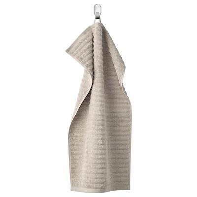 FLODALEN Handtuch, dunkelbeige, 40x70 cm