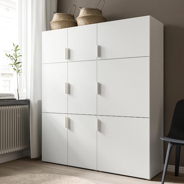 FONNES Tür mit Scharnier, weiß, 40x40 cm