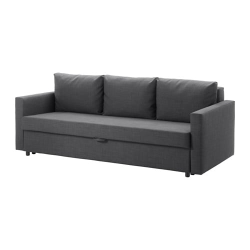 friheten 3er bettsofa skiftebo dunkelgrau ikea. Black Bedroom Furniture Sets. Home Design Ideas