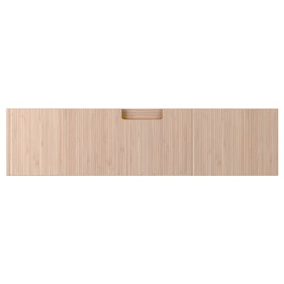 FRÖJERED Schubladenfront, Bambus hell, 80x20 cm
