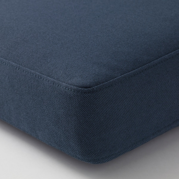 FRÖSÖN/DUVHOLMEN Sitzpolster/außen blau 62 cm 62 cm 12 cm