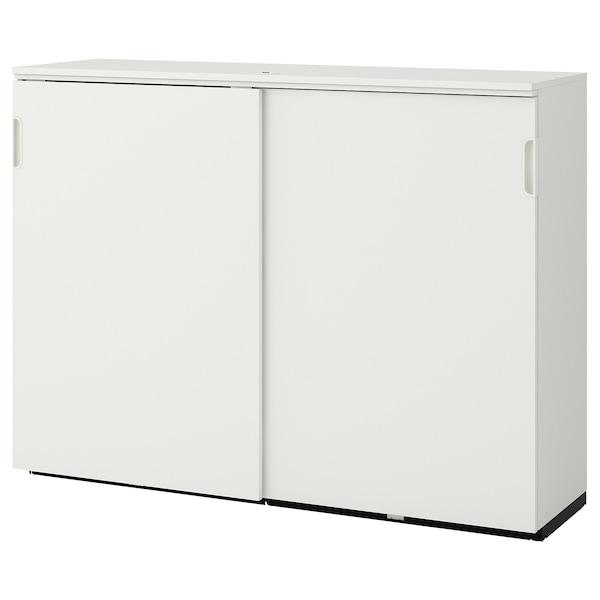 GALANT Schiebetürenschrank, weiß, 160x120 cm