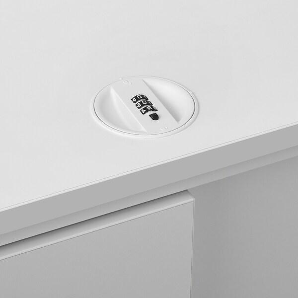 GALANT Schiebetürenschrank, weiß, 160x80 cm