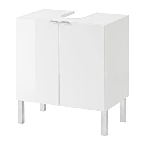 Waschbeckenunterschrank Ikea getryggen waschbeckenunterschrank 2 türen ikea