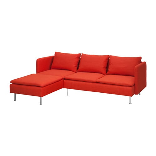 gr vsta 2er sofa mit r camiere skiftebo orange ikea. Black Bedroom Furniture Sets. Home Design Ideas