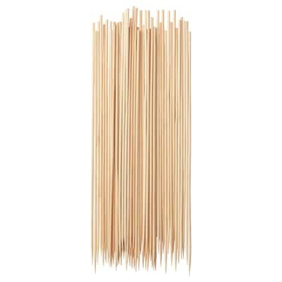 GRILLTIDER Grillspieß Bambus 30 cm 50 Stück