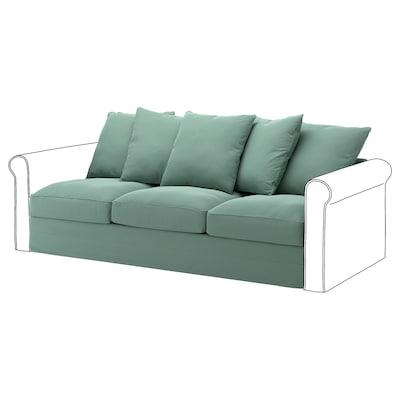GRÖNLID Sitzelement 3 Ljungen hellgrün 104 cm 68 cm 211 cm 98 cm 7 cm 210 cm 60 cm 49 cm
