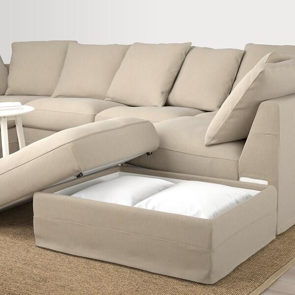 GRÖNLID Sofa, U-Form/6-sitzig - ohne Abschluss, Sporda ...