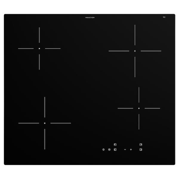 GRUNDAD Induktionskochfeld, IKEA 300 schwarz, 59 cm