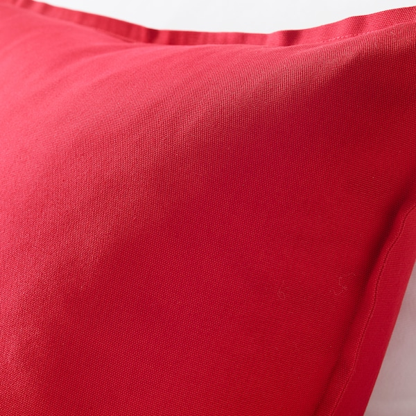 GURLI Kissenbezug rot 50 cm 50 cm