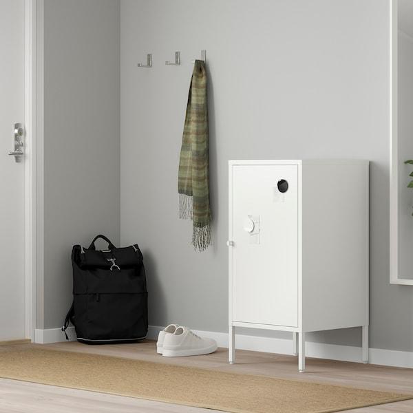 HÄLLAN Schrank, weiß, 45x75 cm
