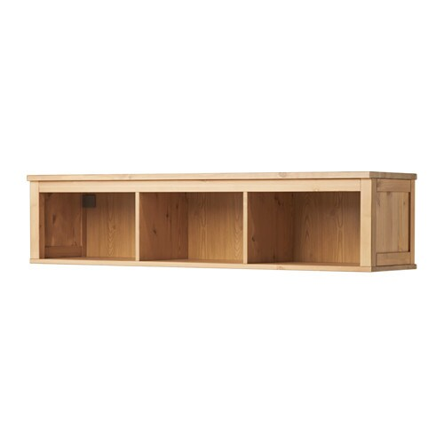 hemnes wohnzimmer weiß:Light Brown Hemnes Wall Bridging Shelf