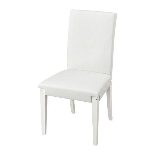 HENRIKSDAL Gestell Stuhl Weiß IKEA