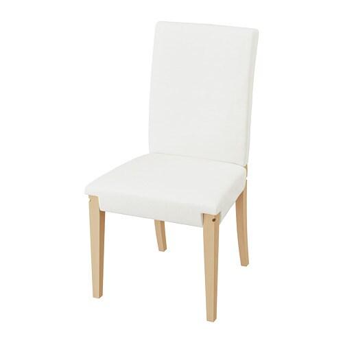 HENRIKSDAL Gestell Stuhl Birke IKEA