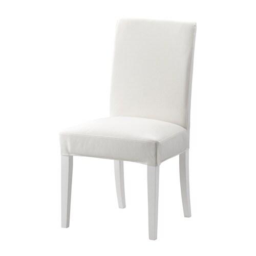 HENRIKSDAL Stuhl Gräsbo Weiß Weiß IKEA