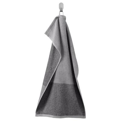HIMLEÅN Handtuch, dunkelgrau/meliert, 40x70 cm