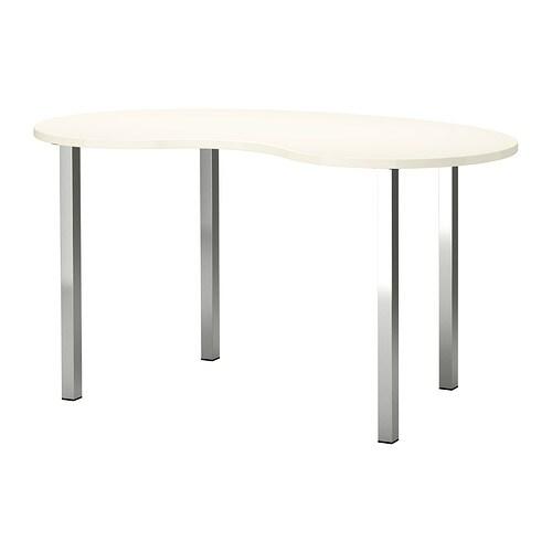 hissmon sjunne tisch wei vernickelt ikea. Black Bedroom Furniture Sets. Home Design Ideas