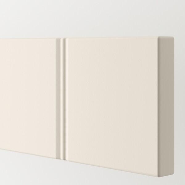 HITTARP Schubladenfront elfenbeinweiß 79.7 cm 9.7 cm 1.8 cm 2 Stück