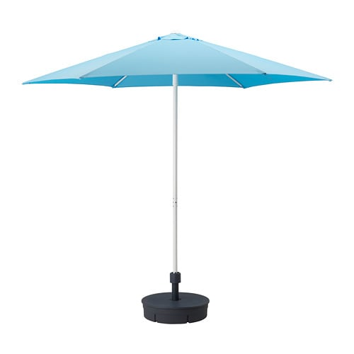 Beliebt HÖGÖN Sonnenschirm mit Ständer - IKEA LO44
