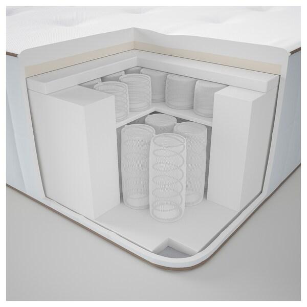 HOKKÅSEN Taschenfederkernmatratze, fest/weiß, 160x200 cm