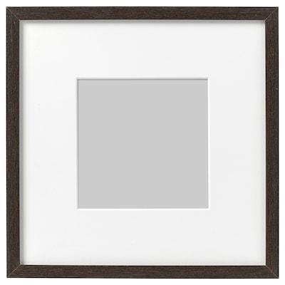 HOVSTA Rahmen, dunkelbraun, 23x23 cm