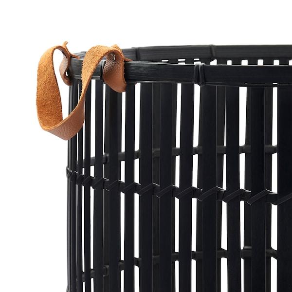 HURRING Korb, Bambus schwarz, 40 cm
