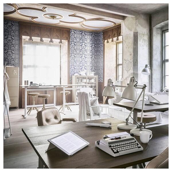 IDÅSEN Schreibtisch, braun/beige, 120x70 cm