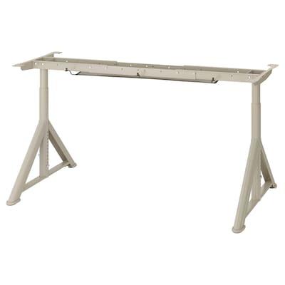 IDÅSEN Untergestell f Tischplatte, beige, 146x67x76 cm