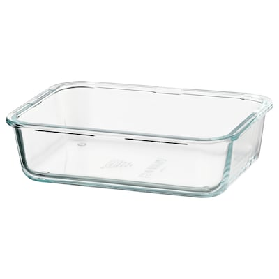 IKEA 365+ Behälter rechteckig/Glas 21 cm 15 cm 6 cm 1.0 l