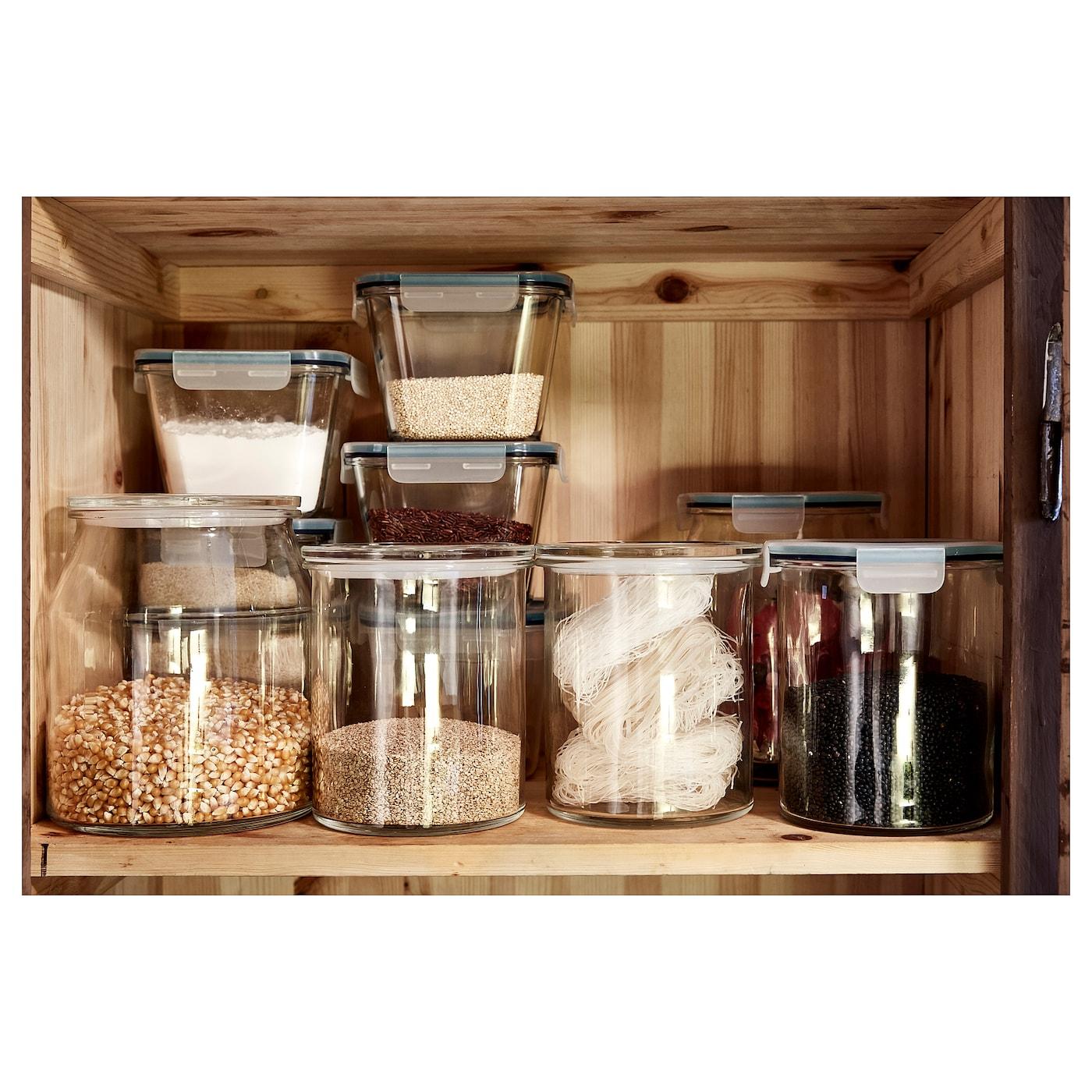 IKEA 365+ Behälter, rund/Glas, 1.7 l