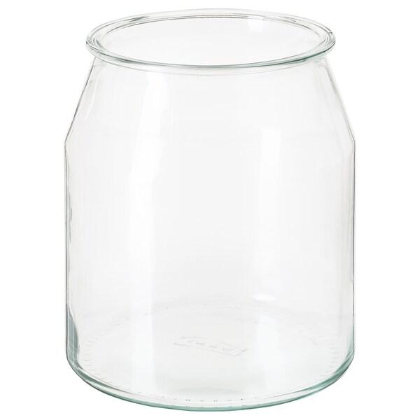 IKEA 365+ Behälter, rund/Glas, 3.3 l