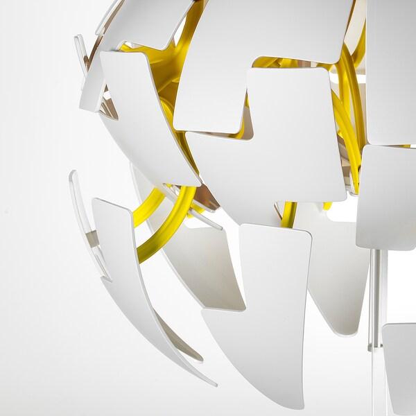 IKEA PS 2014 Hängeleuchte weiß/gelb 13 W 35 cm 150 cm