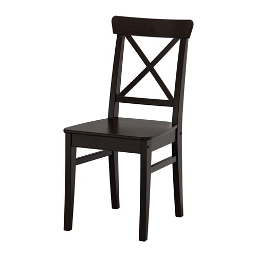 Ingolf Chair Brown Black: INGOLF Stuhl