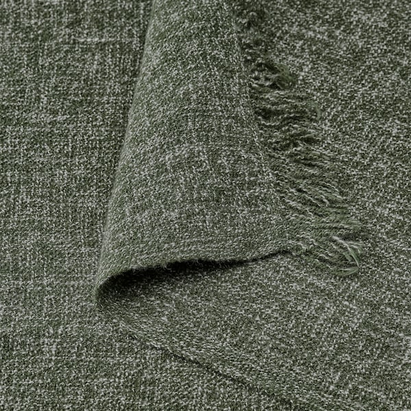 INGRUN Plaid, dunkelgrün, 130x170 cm