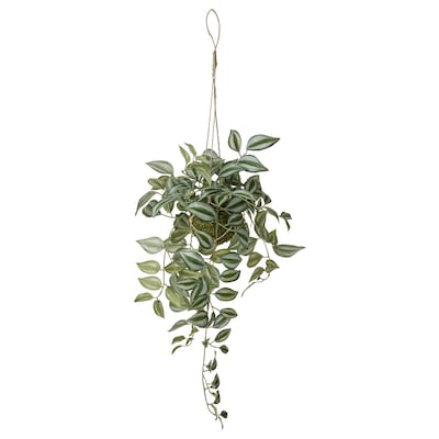 INVÄNDIG Kunstpflanze, hängend Dreimasterblume, 70 cm