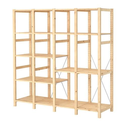 Ikea Tisch Höhenverstellbar Elektrisch ~ Start  Wohnzimmer  Regalsysteme  IVAR System Kombinationen