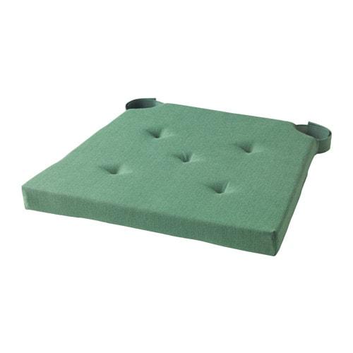 Stuhlkissen, grün, grün 35 / 42x40x4.0 cm