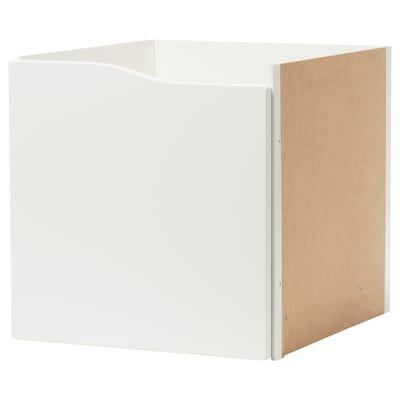 KALLAX Einsatz mit Tür, weiß, 33x33 cm