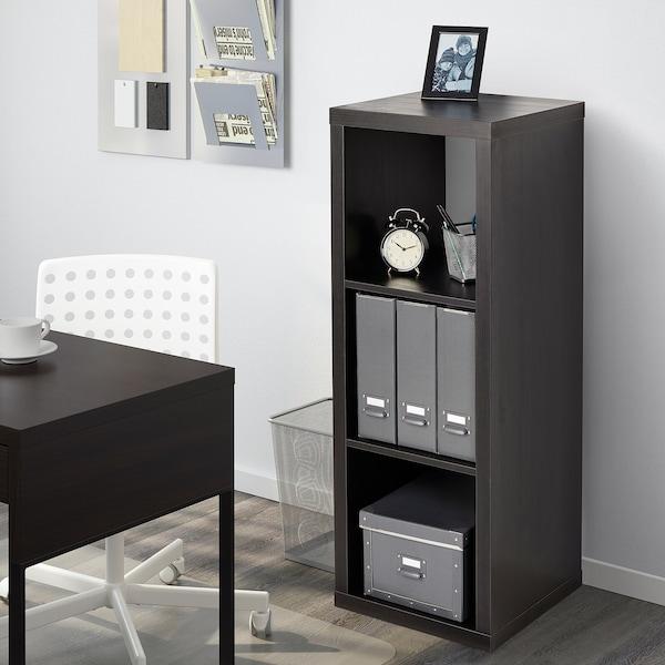 KALLAX Regal - schwarzbraun - IKEA Schweiz