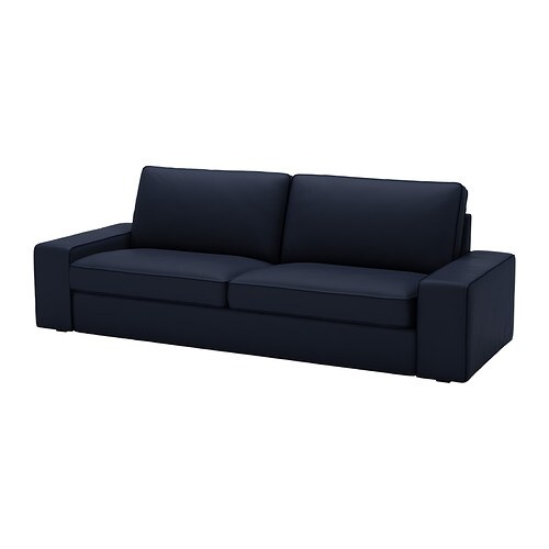 kivik bezug 3er sofa orrsta dunkelblau ikea. Black Bedroom Furniture Sets. Home Design Ideas